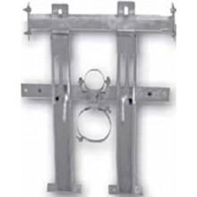 AZP BRNO KZS 1 konzola 410-550x630mm, do sádrokartonu, pro závěsné WC, ocel