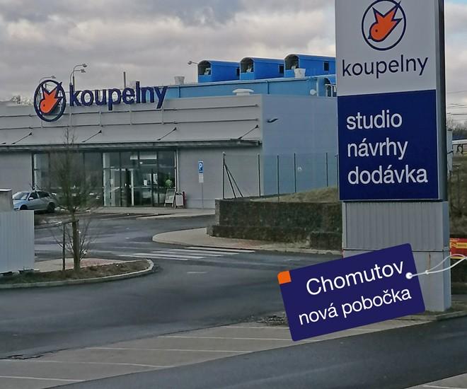 Nové koupelnové studio v Chomutově