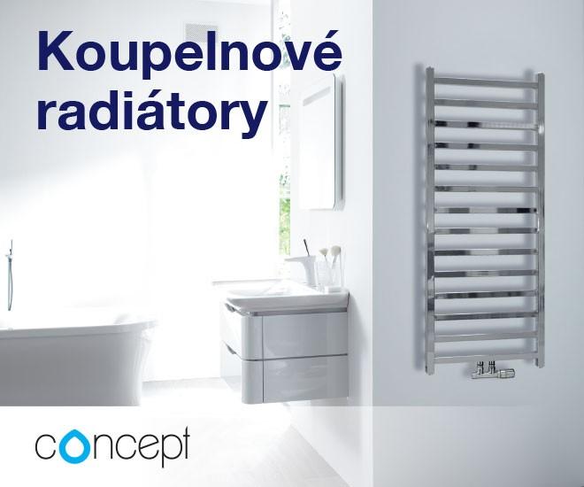 Designový, elektrický či barevný koupelnový radiátor
