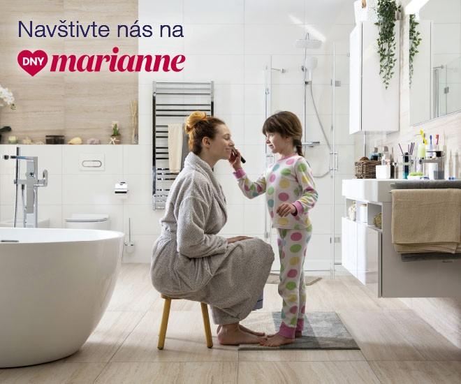 Dny Marianne v síti Koupelen Ptáček