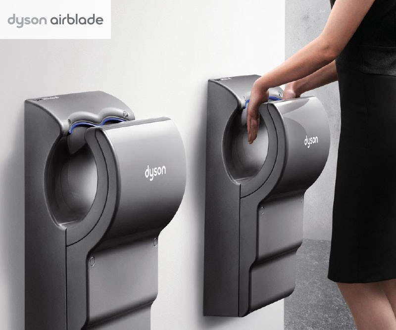 Komfort a hygiena s Dyson Airblade
