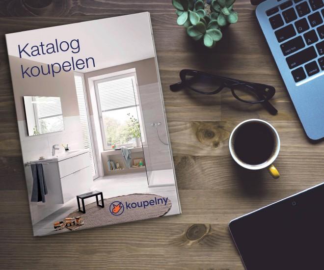 Nový tištěný katalog koupelen pro rok 2021