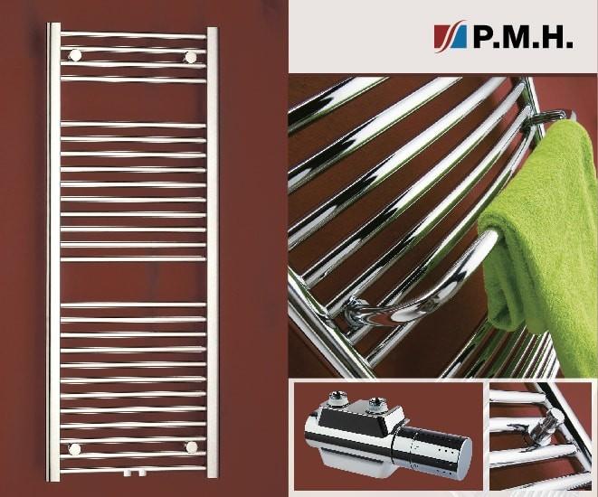 Akce na designové koupelnové radiátory P.M.H.