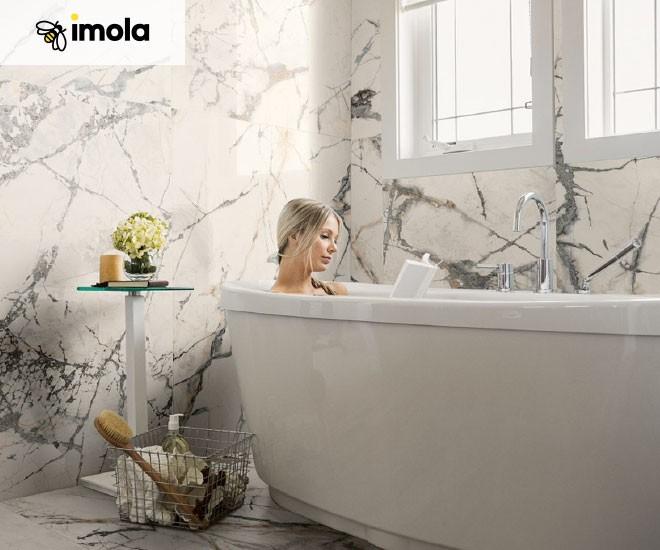 Imola The Room - Mramorové obklady s působivou kresbou