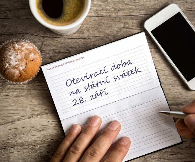 Otevírací doba na Den české státnosti