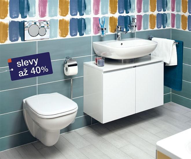 Akční nabídka vybavení koupelen