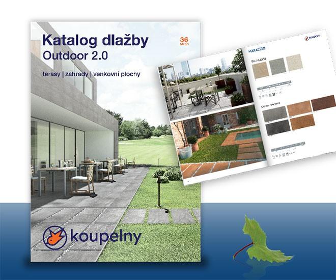 Katalog venkovních dlažeb