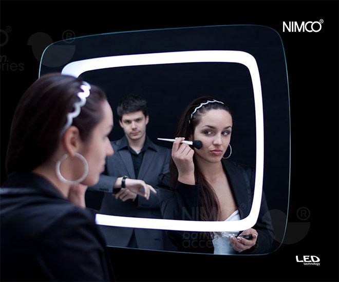 Zrcadla Nimco s LED osvětlením
