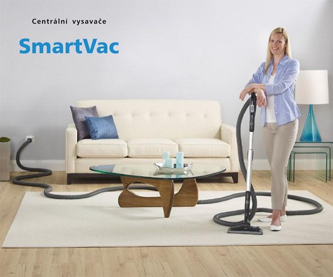 SMARTVAC + komfort centrálního vysávání