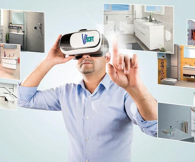 Virtuální realita na koupelnových studiích Ptáček