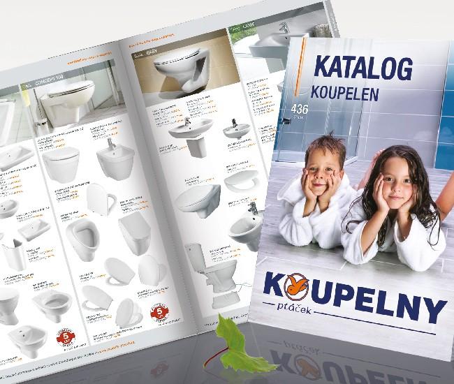 Nový katalog koupelen
