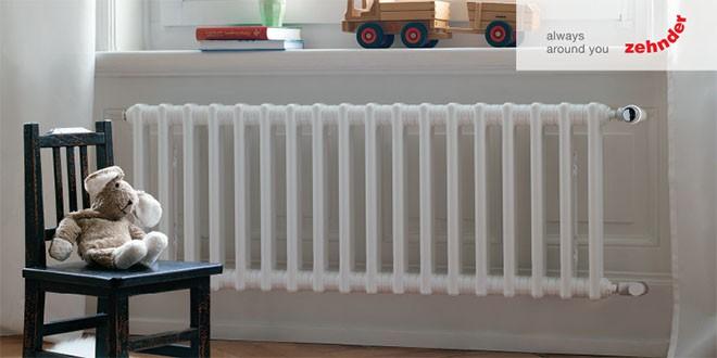 Zdravější teplo radiátorů Zehnder Charleston