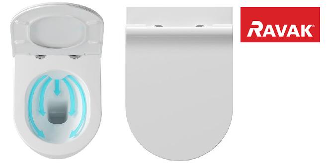 RimOff – technologie, která udrží toaletu Ravak skutečně čistou