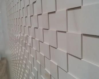 Reliéfní plastická mozaika
