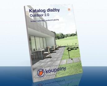 KOUPELNY Ptáček - Katalog venkovní dlažby Outdoor 2.0.